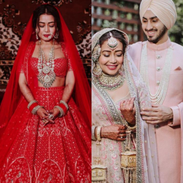 Neha Kakkar gets bashed by netizens for copying Bollywood actresses wedding attires