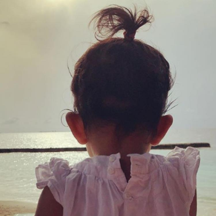 Neha Dhupia shares cute PICS of daughter Mehr to mark the latter's ten month old milestone