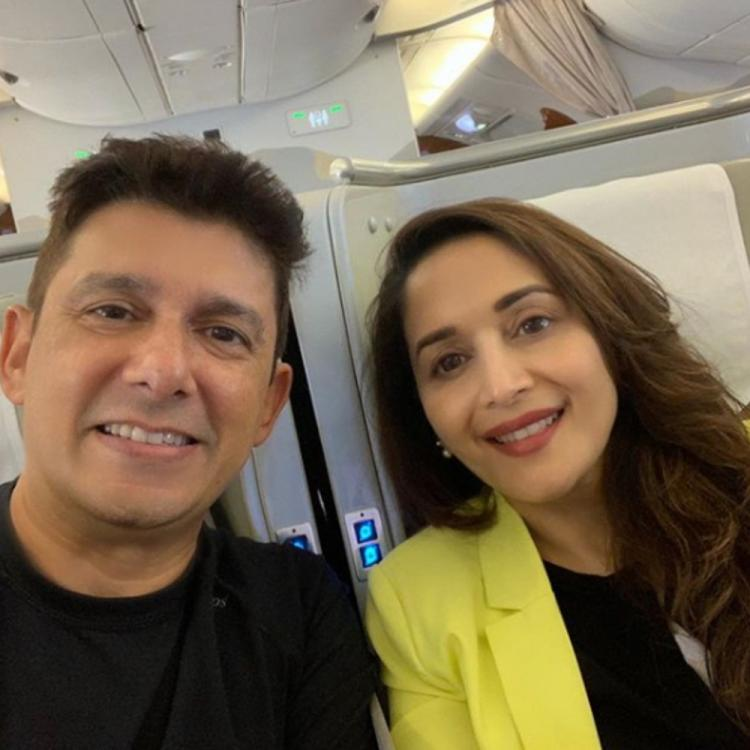 Madhuri Dixit spends some quality time in Rome with husband Shriram Nene & kids; View Pics