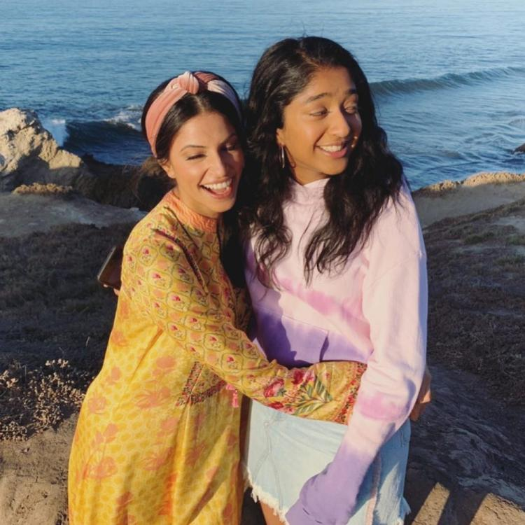 Never Have I Ever actor Richa Moorjani shares BTS pictures of herself and Maitreyi Ramakrishnan from the show