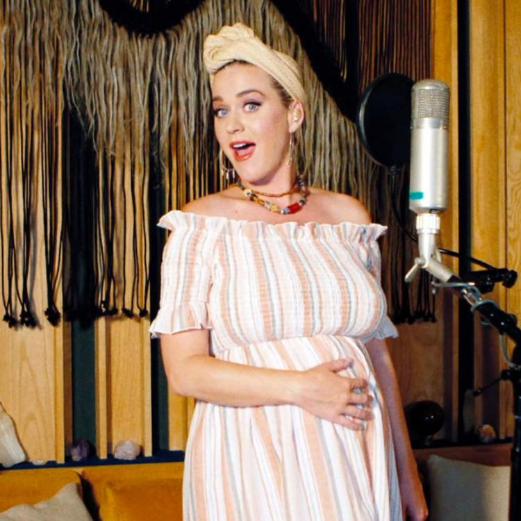 New mom Katy Perry receives a sweet surprise from Beyonce with a special message from the Queen Bey