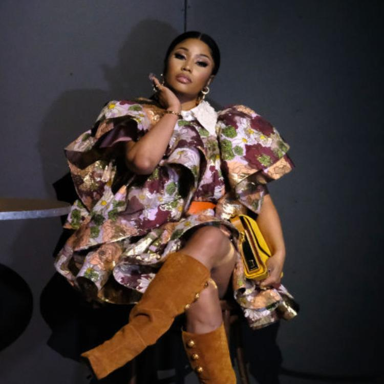Nicki Minaj reveals the gender of her baby while sharing congratulatory messages from her pals