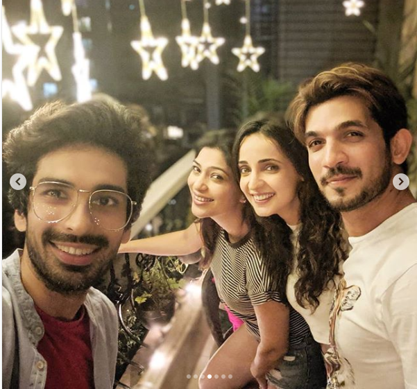 Miley Jab Hum Tum trio Arjun Bijlani, Sanaya Irani and Mohit Sehgal had the perfect weekend; view PICS