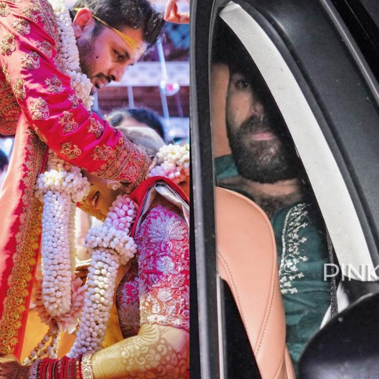 Nithiin and Shalini tie the knot amid lockdown; Varun Tej and others grace the wedding; SEE PHOTOS