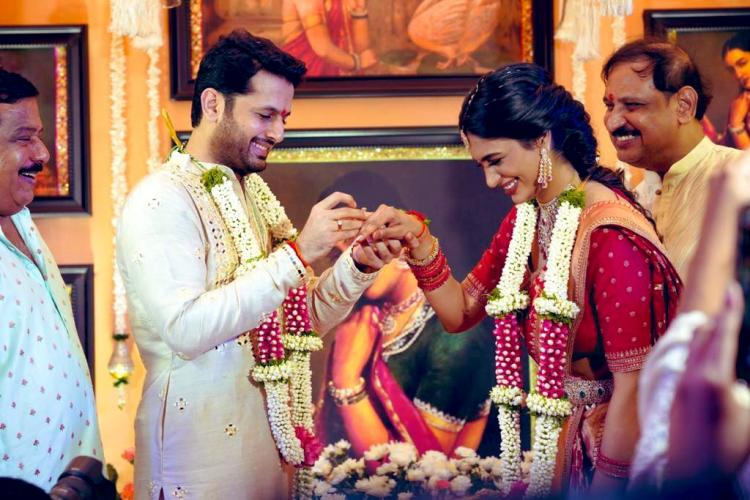 Nithiin & Shalini's Engagement: Couple exchange rings ahead of their wedding; Check out their beautiful moment