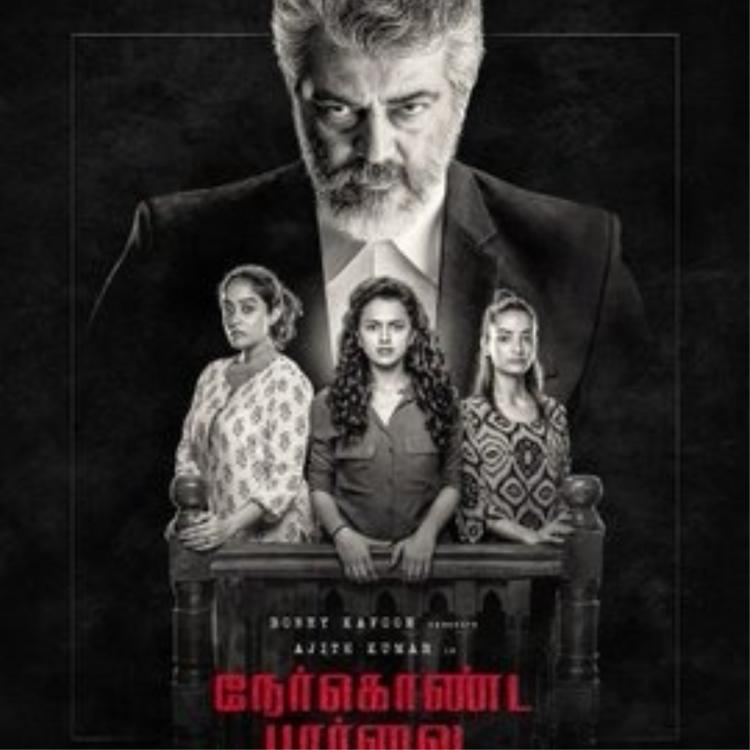 Thala Ajith fans take over social media as Nerkonda Paarvai's first look completes one year; Read On