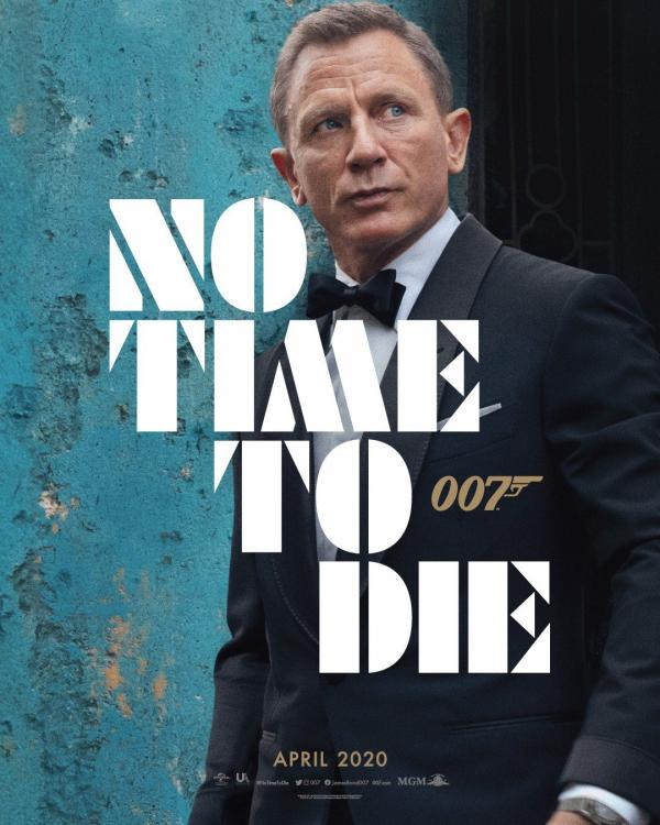 No Time To Die is slated to release in the UK on April 3, 2020.