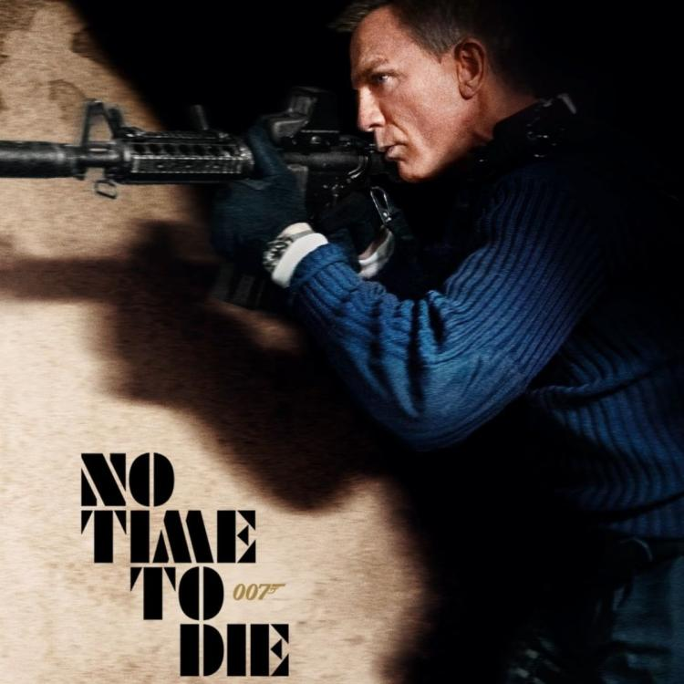 Daniel Craig in the new No Time To Die poster