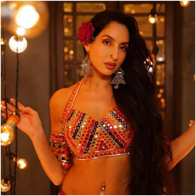 Nora Fatehi shares BTS video of her practicing with fire for O Saki Saki from Batla House; WATCH