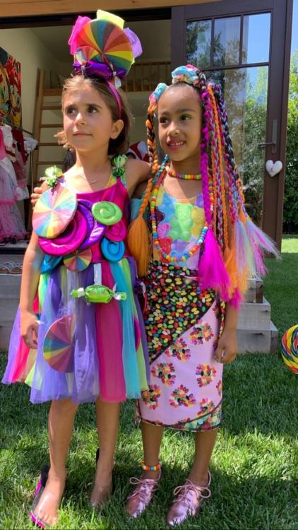 Kim Kardashian daughter, North West proves to be a fashionista at her sixth birthday party