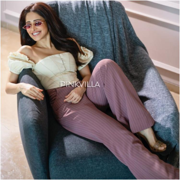 Nushrratt Bharruchha shows the right way to rock salmon pants in style; Yay or Nay?