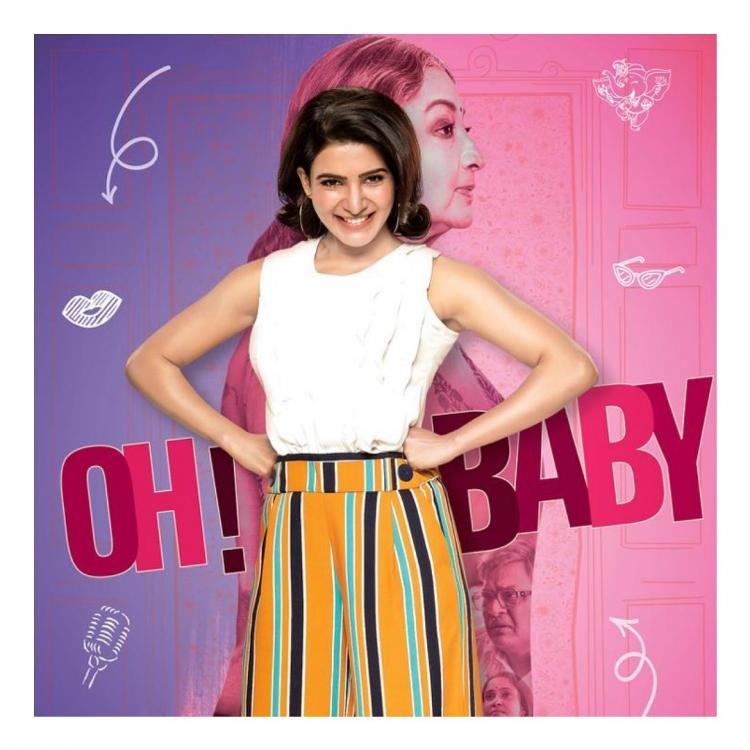 Samantha Akkineni looks refreshing as she unveils FIRST poster of next film 'Oh Baby'; Check it out
