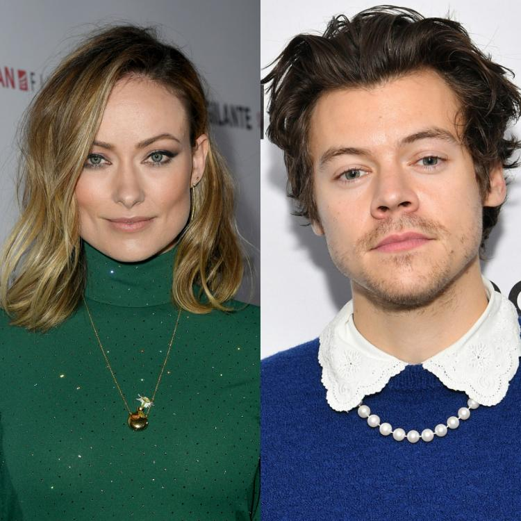 Olivia Wilde reacts to a funny meme about Harry Styles