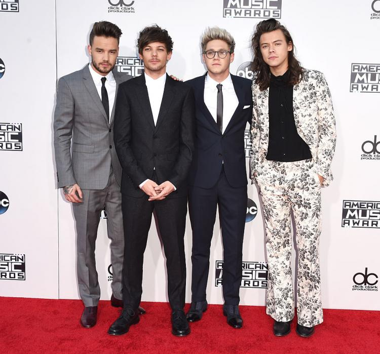Harry Styles, Liam Payne, Louis Tomlinson and Niall Horan took to Twitter to wish their fans on Christmas.