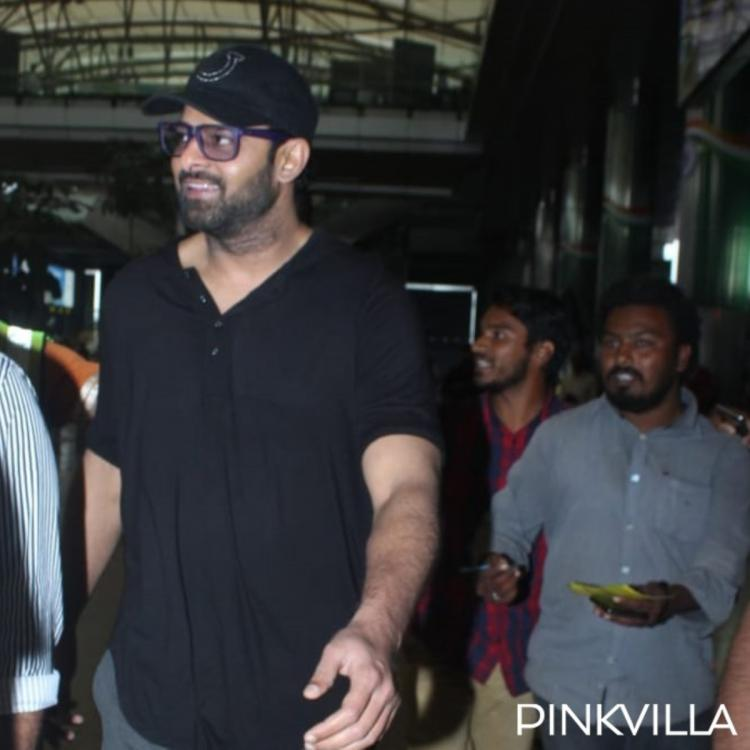 Prabhas makes a stylish appearance as he gets papped at the airport