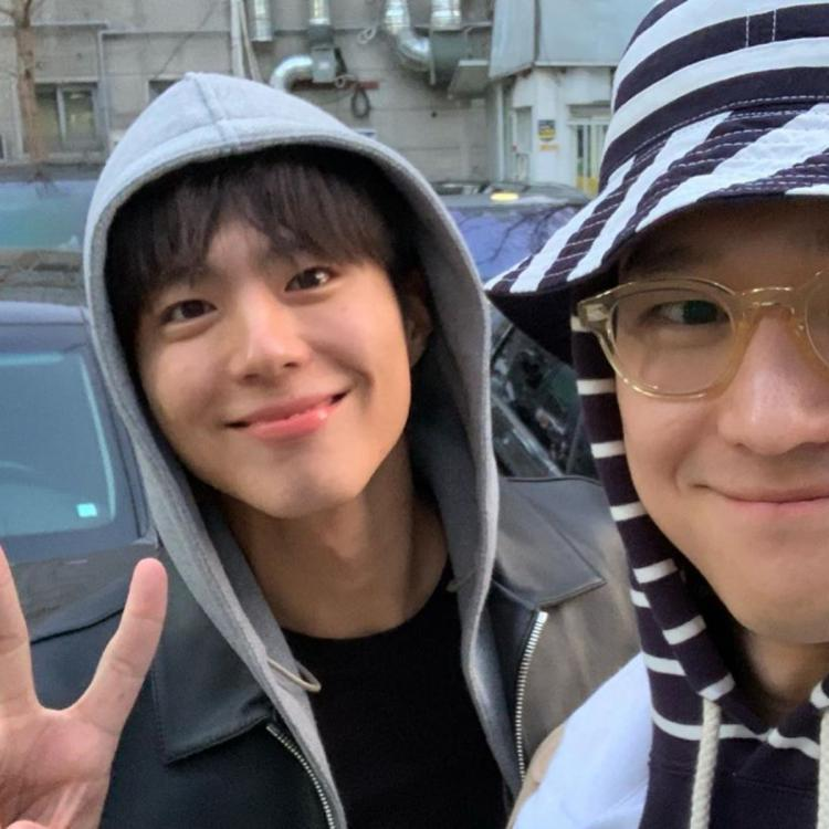 Park Bo Gum Military Enlistment: Go Kyung Pyo and Lee Dong Hwi share photos and video of actor to show support