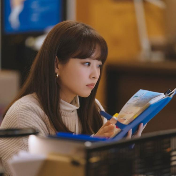 Park Bo Young plays Tak Dong Kyung in Doom At Your Service