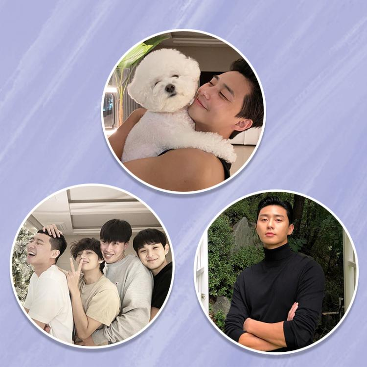 A look at Park Seo Joon's most-liked Instagram photos of all-time