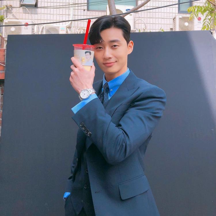 Park Seo-joon was asked to point out his own charm in an interview