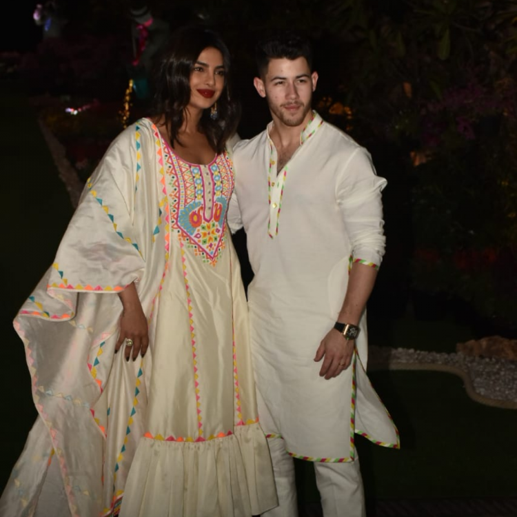 PHOTOS: Priyanka Chopra and Nick Jonas match not just outfits but also their yellow footwear & it screams love