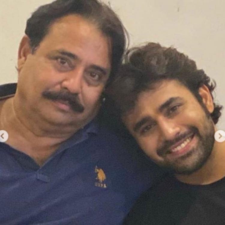 Pearl V Puri pens a heartfelt note for his late father; Calls him a happy soul and a man of substance