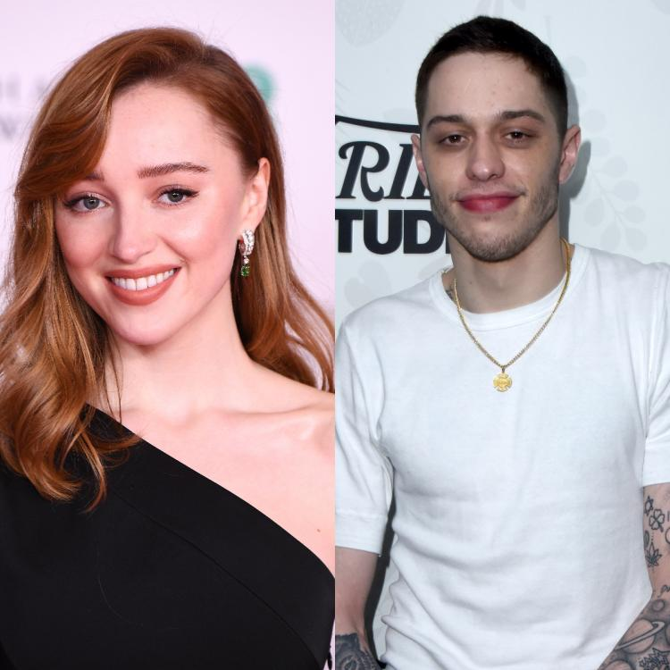 Pete Davidson and Phoebe Dynevor sport matching necklaces amid romance rumours