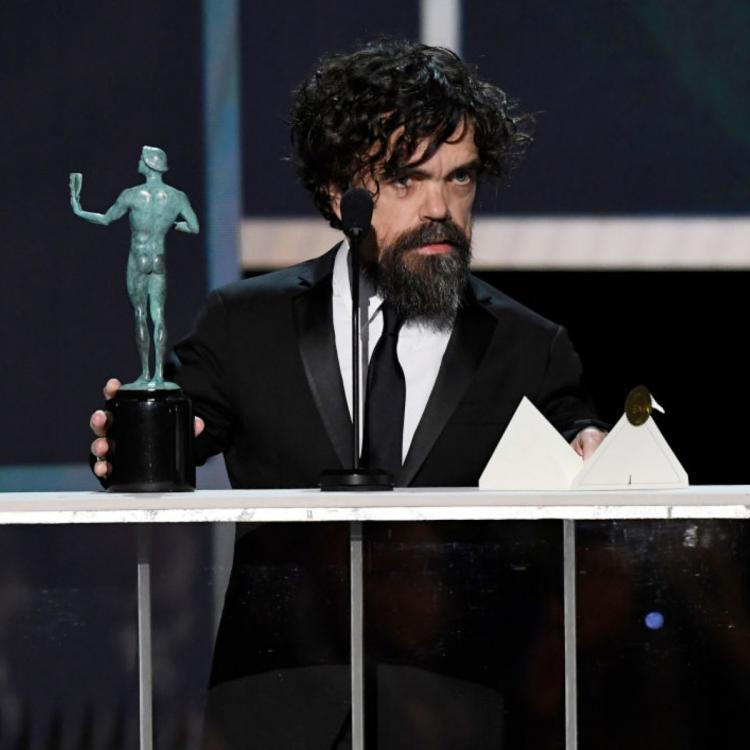 SAG Awards 2020: Game of Thrones star Peter Dinklage thanks Sophie Turner and other GoT cast members
