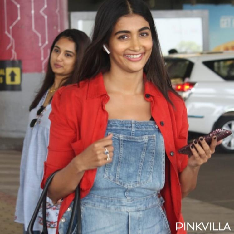 PHOTOS: Pooja Hegde is all smiles as she gets papped at the airport
