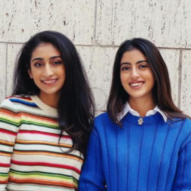 PHOTO: Navya Naveli Nanda shows her 'somewhat professional' look while flaunting bright blue sweater