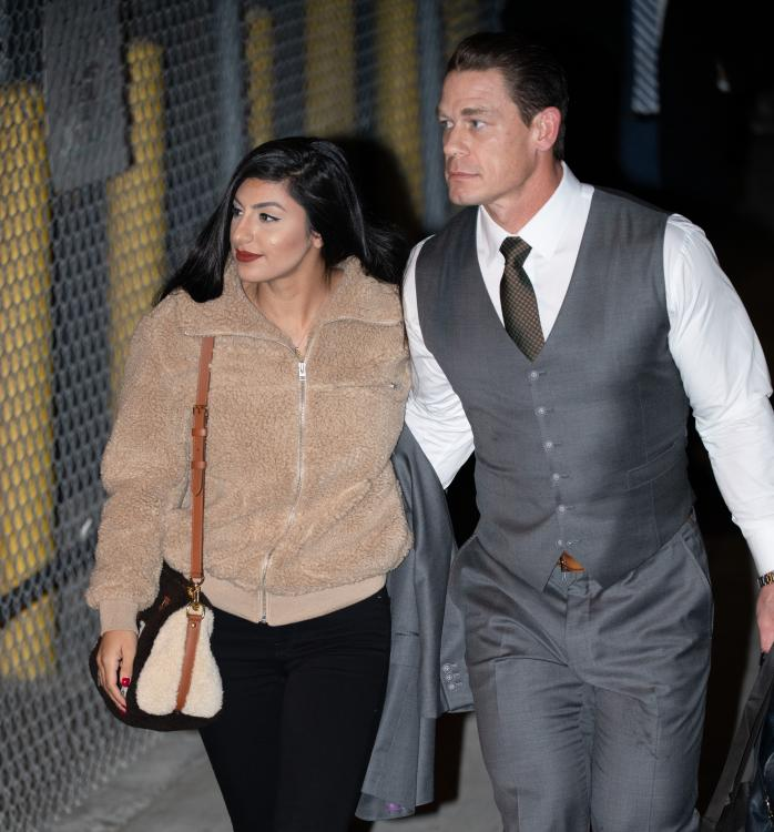 John Cena andShay Shariatzadeh were snapped together by the paparazzi in Los Angeles, California.