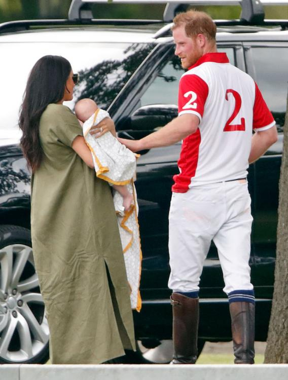 Meghan Markle chooses an INDIAN brand for baby Archie's first public appearance; Check it out