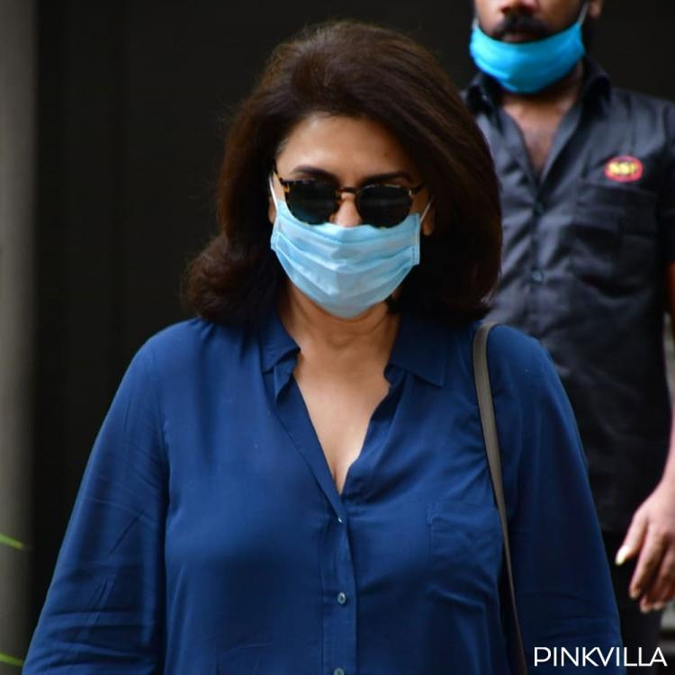 PHOTOS: Neetu Kapoor keeps it simple and stylish in her denim look as she steps out in the city