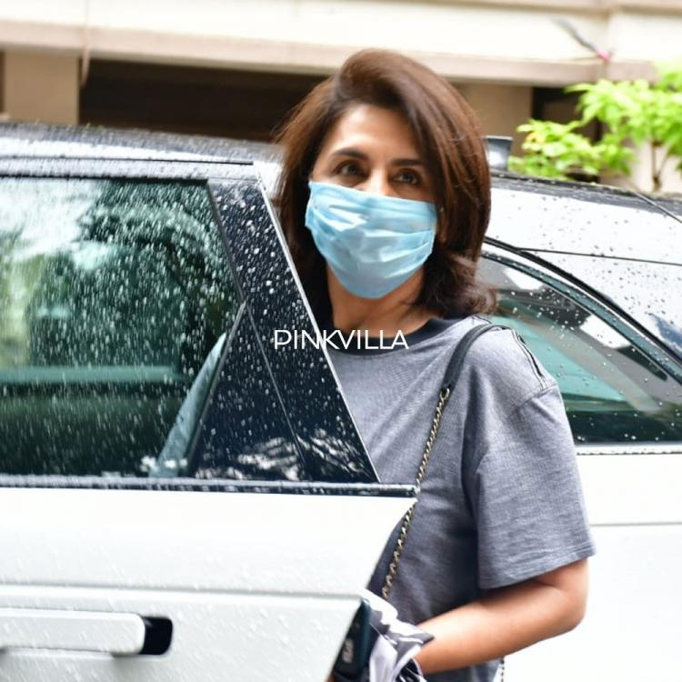 PHOTOS: Neetu Kapoor looks stylish in casuals as she steps out in the city wearing mask amid COVID 19 outbreak