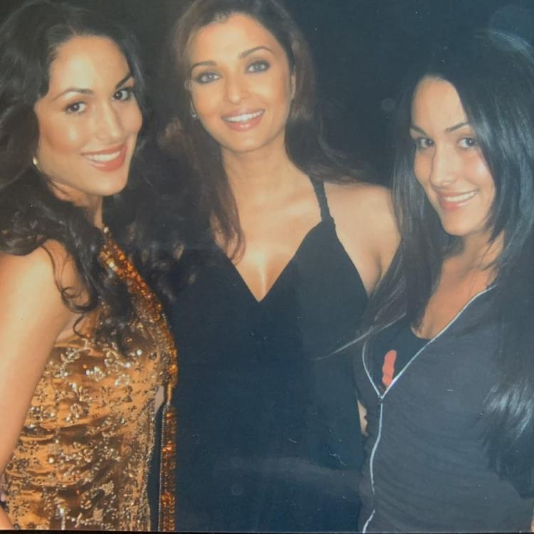 Nikki Bella and Brie Bella had come down to Mumbai for 11 days in 2007 to shoot for a commercial with Aishwarya Rai Bachchan.