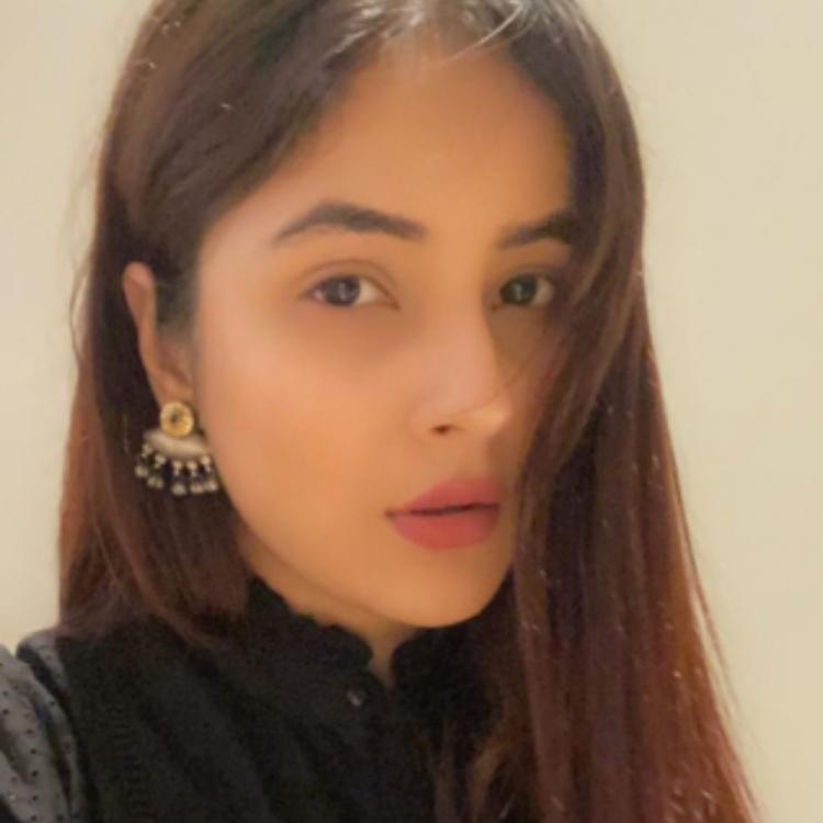 PHOTOS: Bigg Boss 13's Shehnaaz Gill is a sight to behold in a black outfit but her expressions steal the show
