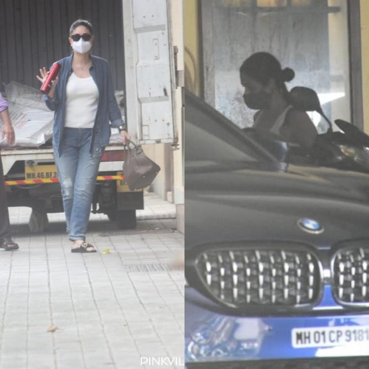 PHOTOS: Kareena Kapoor Khan and Malaika Arora step out in style as they catch up at Amrita Arora's house