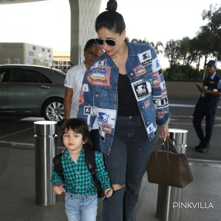 PHOTOS: Kareena Kapoor Khan and Taimur Ali Khan up their airport style as they get papped together