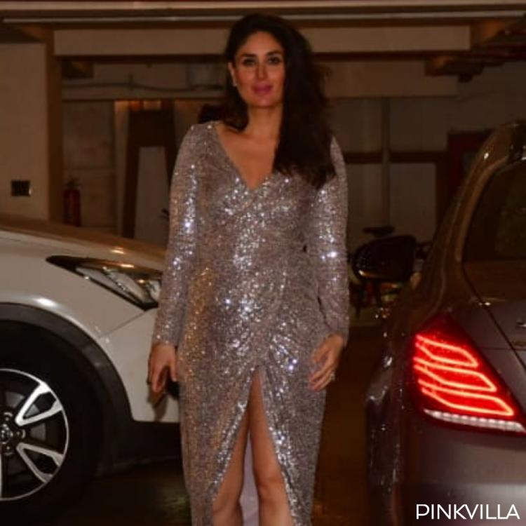 PHOTOS: Kareena Kapoor Khan stuns in a shimmery silver dress as she steps out in the city
