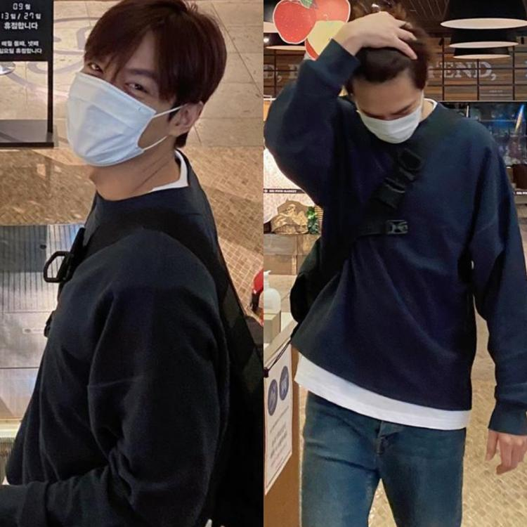 PHOTOS: Lee Min Ho delivers the ultimate boyfriend look during his visit to a food market