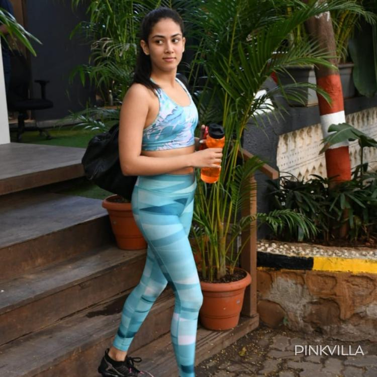 PHOTOS: Mira Rajput stuns in electric blue athleisure as she gets papped after a gymming session