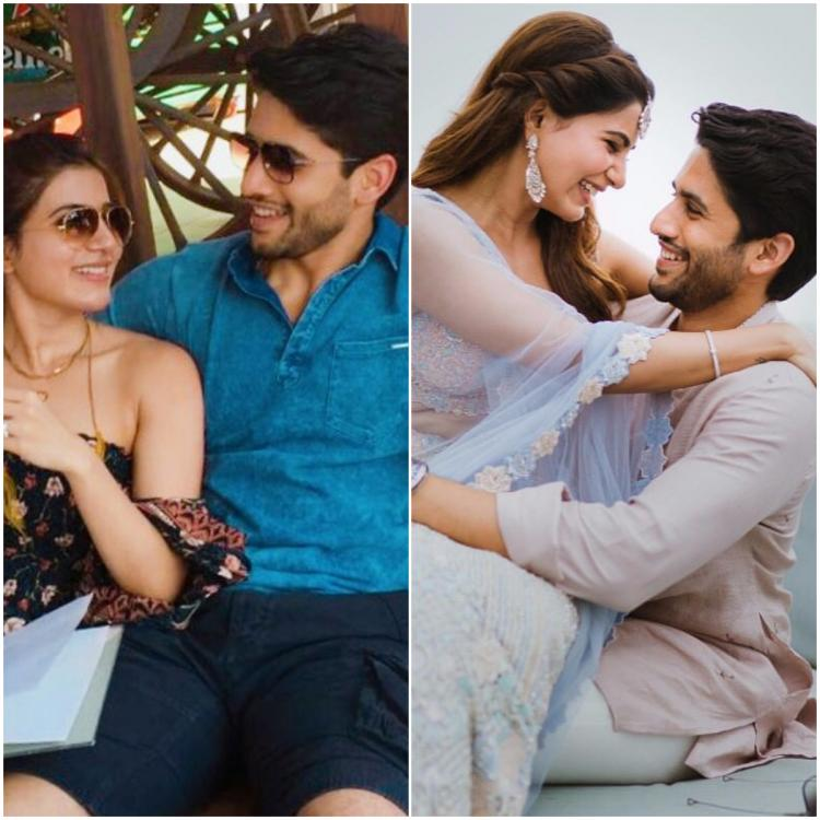 PHOTOS: Naga Chaitanya loses himself in Samantha Akkineni's eyes is everything that fairytales are made of