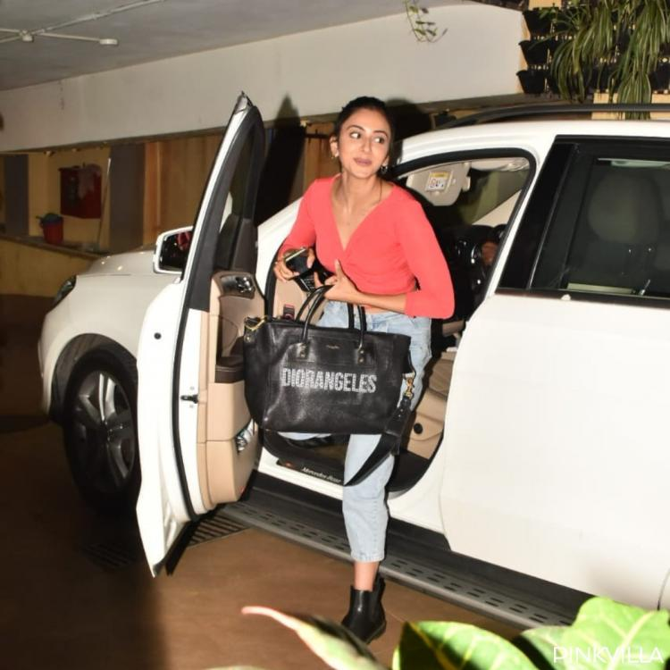 PHOTOS: Rakul Preet Singh grabs attention in her chic avatar as she steps out in the city