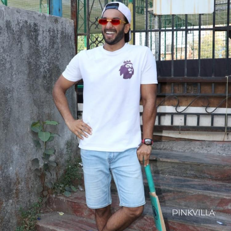 PHOTOS: Ranveer Singh gets into the cricket mode for a charity match in the city