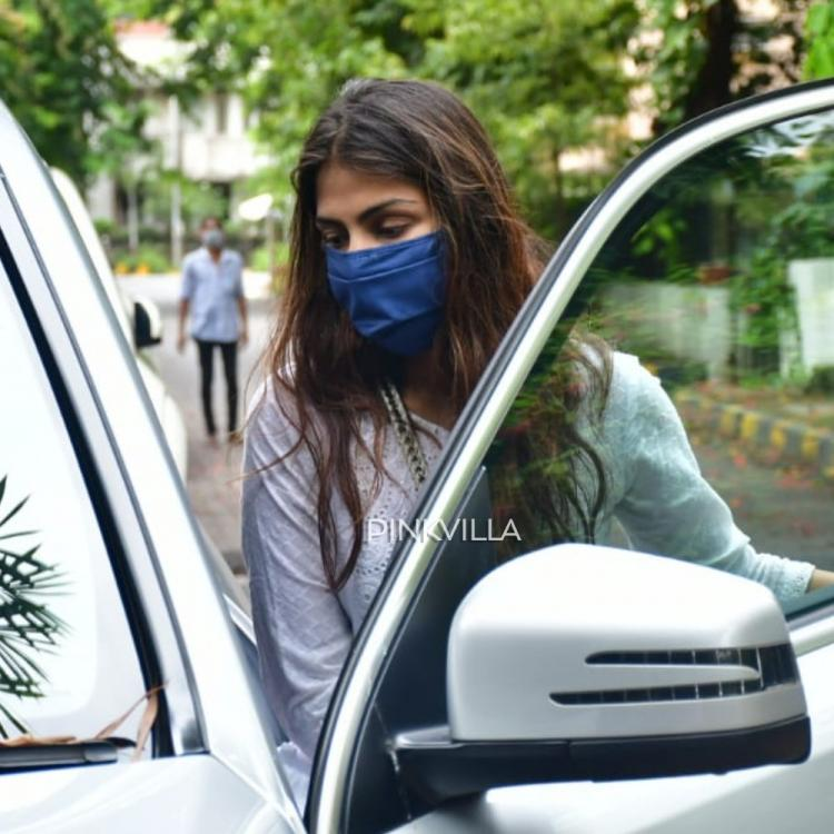 PHOTOS: Rhea Chakraborty spotted first time since her interrogation after Sushant Singh Rajput's demise
