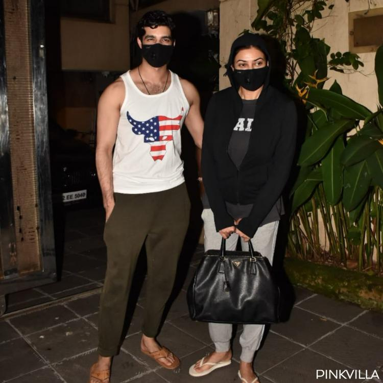 PHOTOS: Sushmita Sen's beau Rohman Shawl accompanies her to a clinic in the city