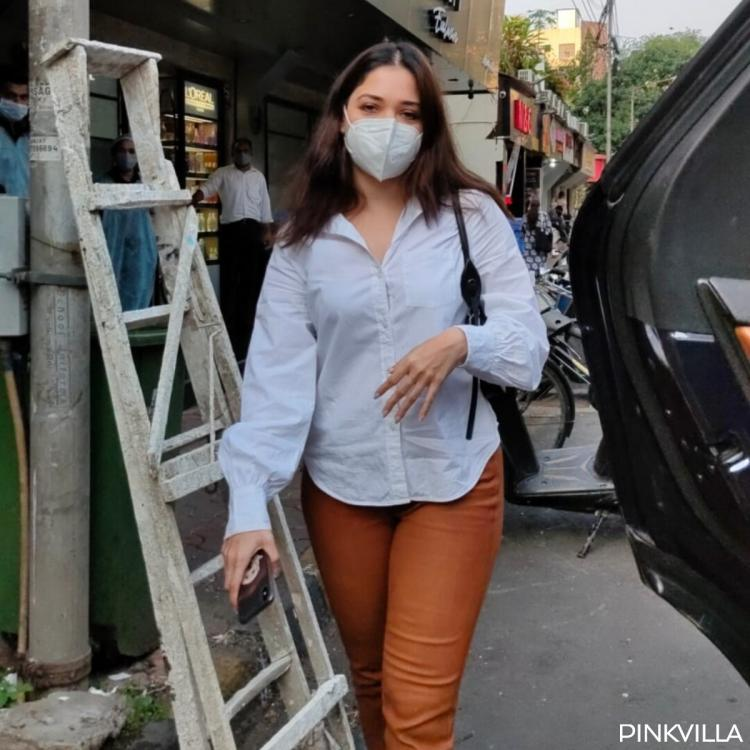 PHOTOS: Tamannaah Bhatia goes the casual way as she steps out in the city post recovering from COVID 19