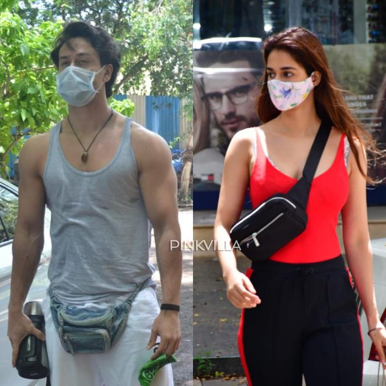 PHOTOS: Tiger Shroff resumes work during the unlock phase; Disha Patani gets papped at a beauty store