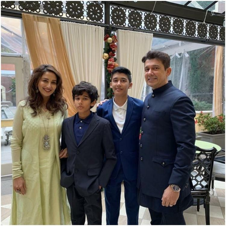 Madhuri Dixit talks about her relationship with her two kids