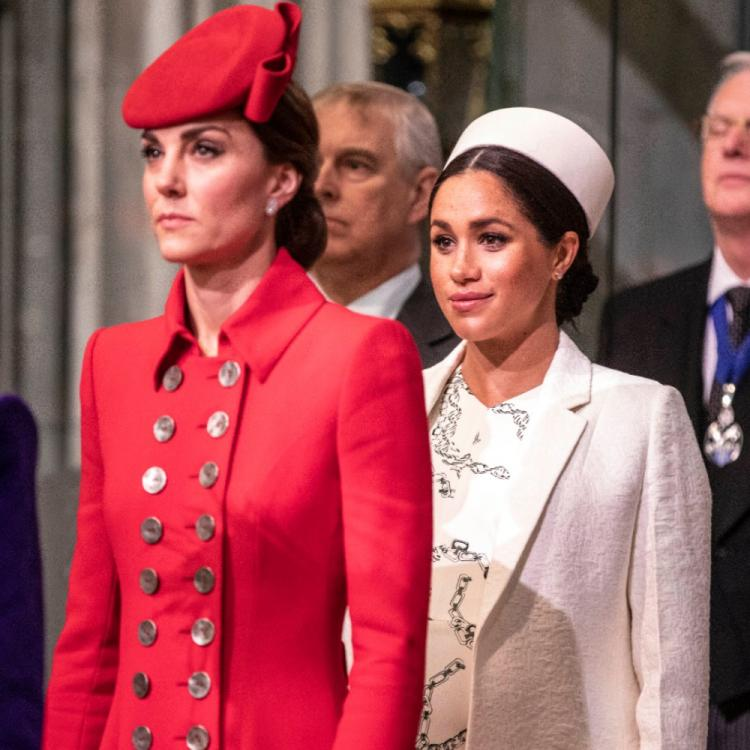 THIS is the reason you will see Meghan Markle sport red lipstick but not Kate Middleton