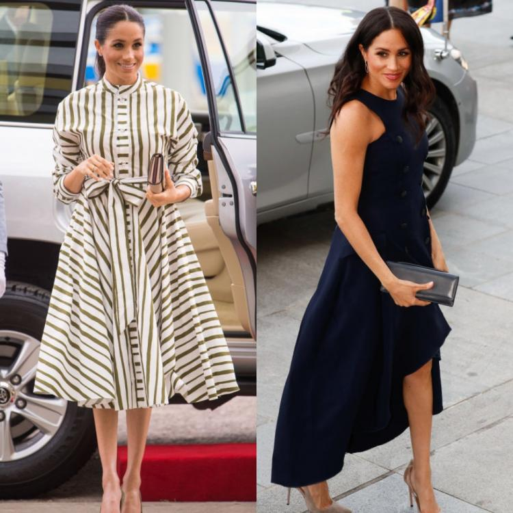 Meghan Markle's flawless maternity outfits deserve a space in the wardrobe of every style conscious mom to be | PINKVILLA